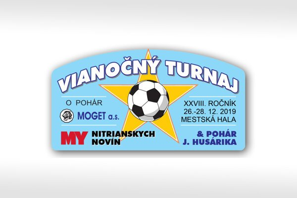 Vianočný turnaj MY Nitrianskych novín - Moget Cup - sa bude hrať opäť s rekordným počtom 58 mužstiev.