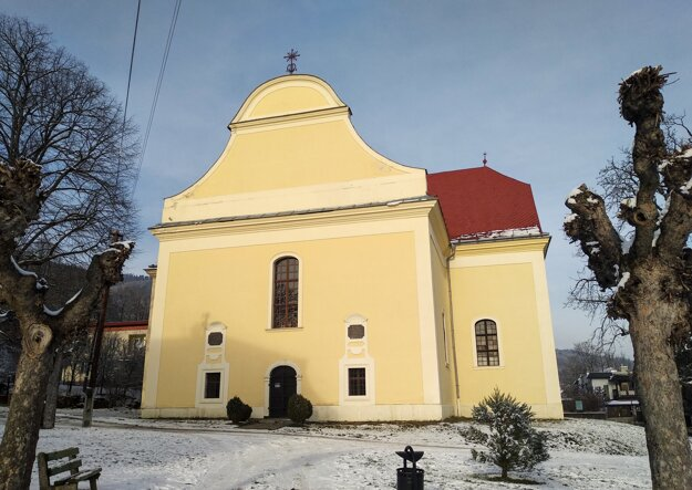 Evanjelický kostol sv. Michala v Gelnici.