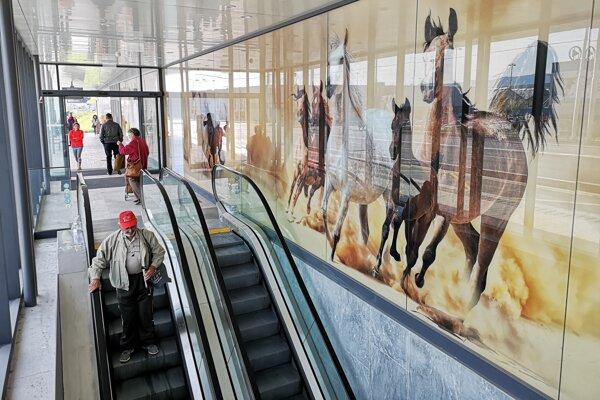 Ilustračný záber z vynovenej prešovskej stanice.