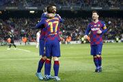 Futbalisti FC Barcelona na ilustračnej fotografii.