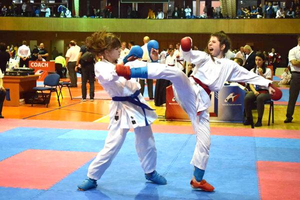 Júlia Laubertová, 12.-13 r. do 50 kg 5.miesto
