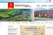 Nový web mesta.