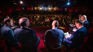 Som presvedčený, že po voľbách budeme zostavovať vládu, tvrdí Kiska (prvá predvolebná debata SME)