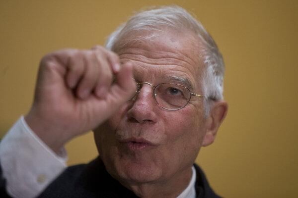 Vysoký predstaviteľ EÚ pre zahraničnú a bezpečnostnú politiku Josep Borrell.