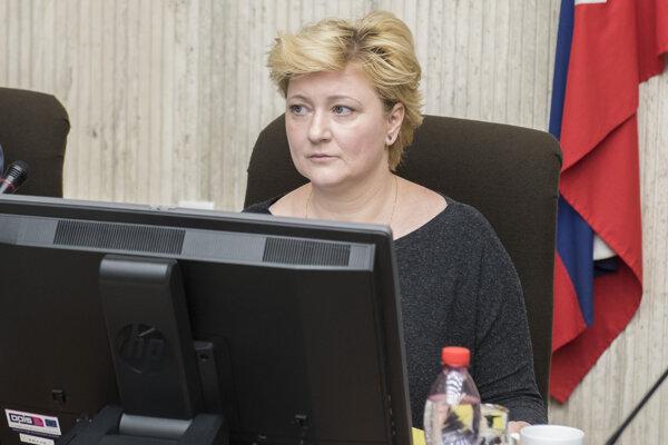 Štátna tajomníčka ministerstva financií SR Dana Meager.