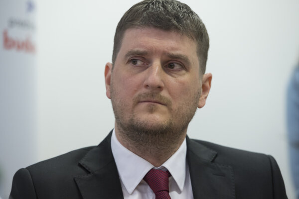 Predseda Protimonopolného úradu SR Tibor Menyhart.