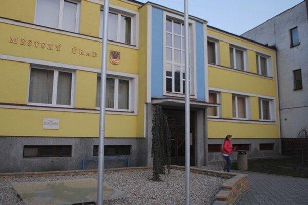 Mestský úrad v Sobranciach.