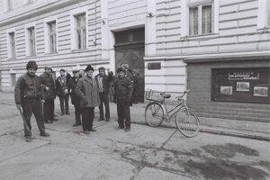 Obyvatelia Temešváru v decembri 1989.