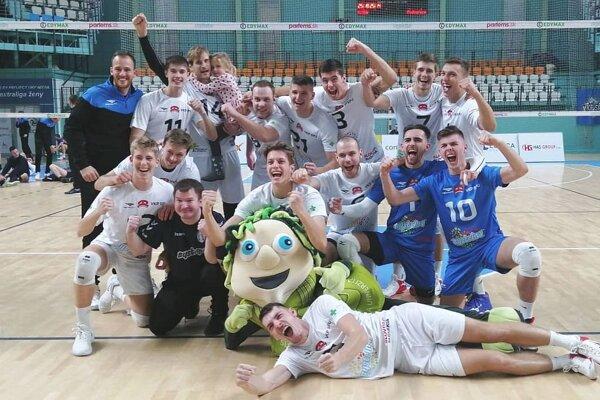 Volejbalisti VKP SPU Nitra prešli cez Podgoricu do osemfinále Challenge Cupu CEV.
