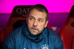 Tréner Bayernu Mníchov Hansi Flick.