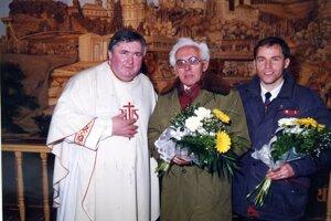 Zľava: Pavol Šadlák, Jozef Pekara a Stanislav Machovčák.