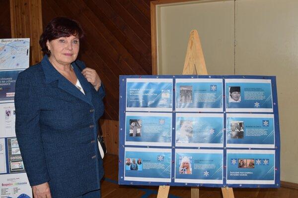 Gabriela Soukalová v rodnej Kremnici.