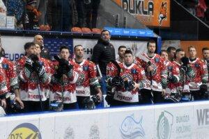 Na druhý pokus už Michalovčanom špeciálne vianočné dresy priniesli šťastie, keď v nich zdolali Budapešť.