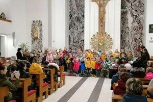 Podujatie Slovensko spieva koledy 2019 v Sihelnom.