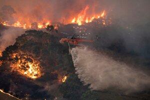 Austráliu sužujú lesné požiare. East Gippsland, 30. decembra 2019.