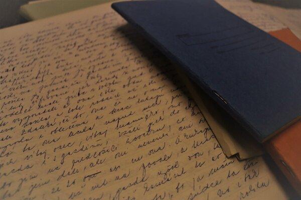 Do zápisníkov si Lazorík zapisoval svoje zistenia.