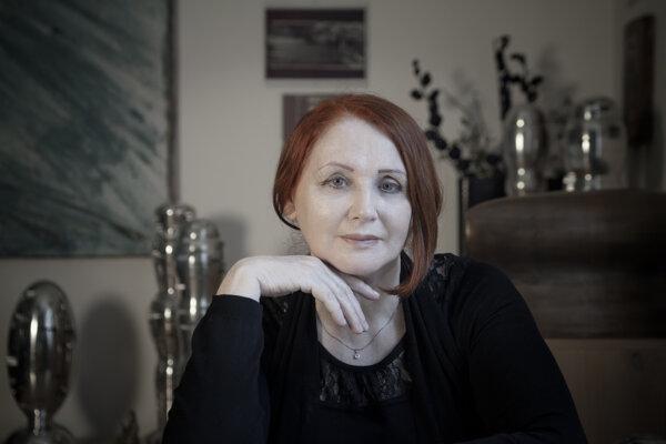 Spisovateľka Jana Bodnárová.