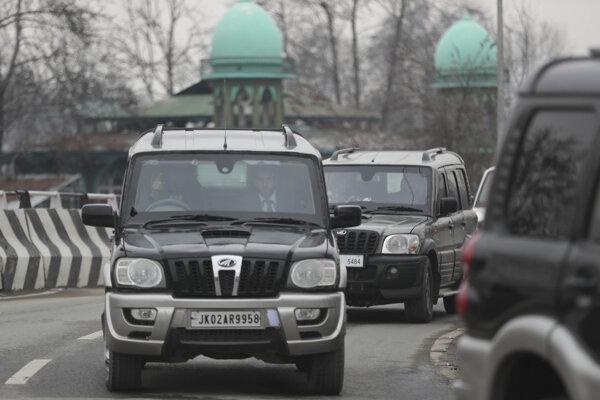 Do Kašmíru pricestovala delegácia diplomatov.