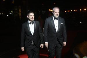 Peter Bebjak s partnerom Andrejom Dúbravským