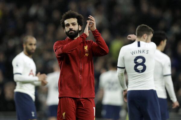 Mohamed Salah z Liverpool FC.