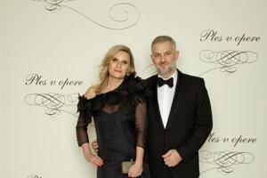Martin Žúži, hudobník, člen kapely Hex s manželkou Uršuľou