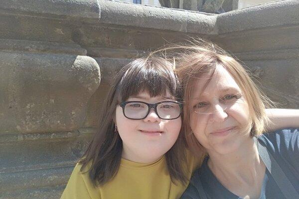Johanka s mamou Vierou