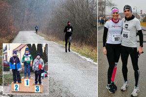 Na snímke v Hlbokej doline v popredí Veronika Zrastáková. Vpravo Jana Šimunková a Gabriel Švajda.