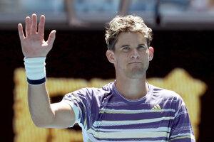 Dominic Thiem v 1. kole Australian Open 2020.