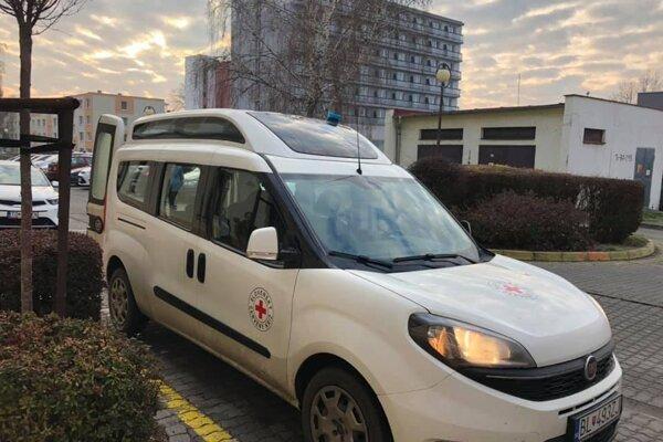 Sociálnym taxíkom bude vozidlo značky Fiat. Foto: A.G.