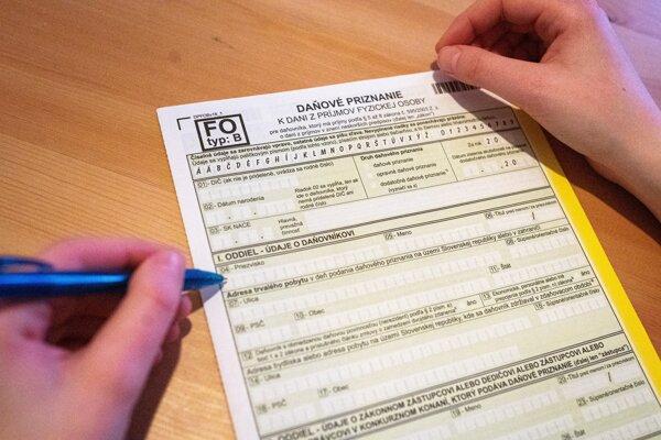 Fyzická osoba versus daňové priznanie typu B.