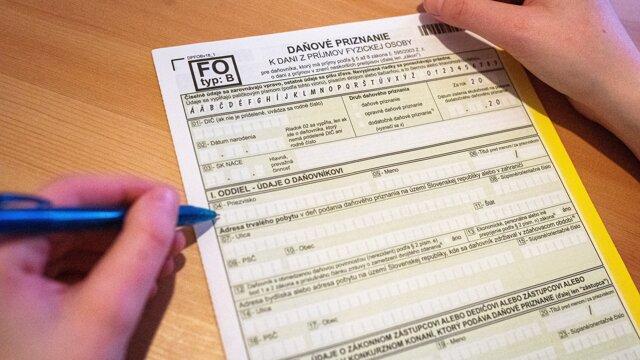 Daňové priznanie typ B