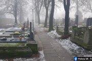 Cintorín vo Veľkom Mederi.