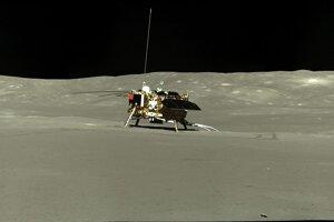 Sonda Čchang-e 4 z vozidla Nefritový králik 2.