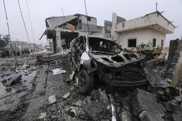 Útok militantov v Idlibe neprežilo skoro 40 sýrskych vojakov