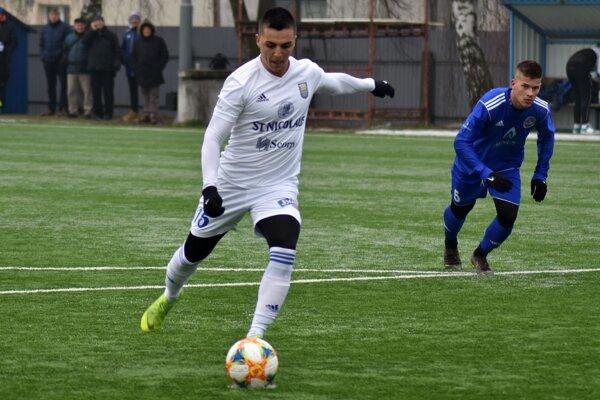 Víťazný gól Michaloviec proti Lokomotivu Plovdiv zaznamenal Stanislav Danko.