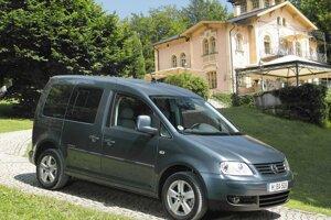 Volkswagen Caddy Life tretej generácie (2003-2010)