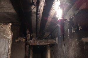 Výbuch plynu zničil aj pivničné priestory na Mukačevskej 9.