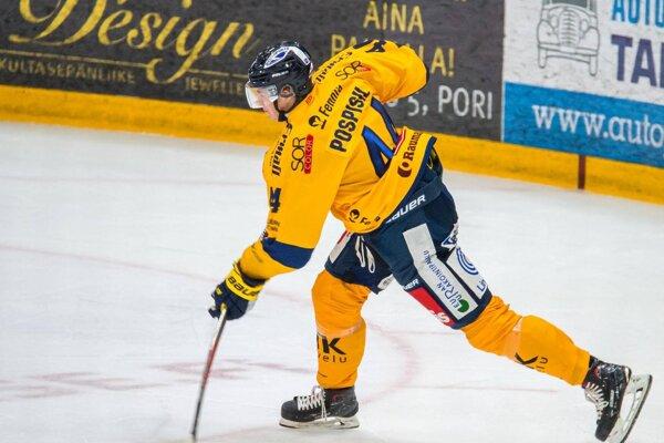 Kristián Pospíšil hrá vo Fínsku za Lukko Rauma