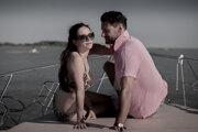 Gabriela Marcinková a Marko Igonda vo filme Sviňa.