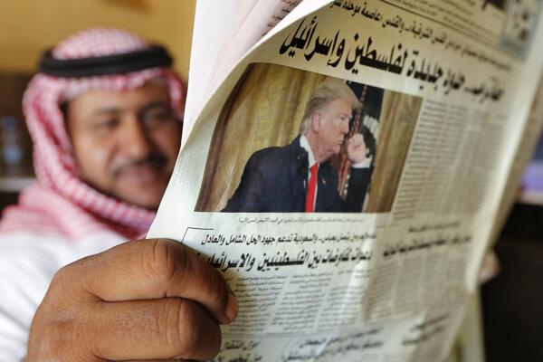 Trumpov plán rozdeľuje aj arabský svet