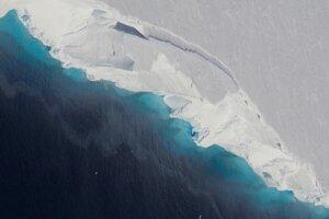 Thwaitsov ľadovec sa nachádza na západe Antarktídy.