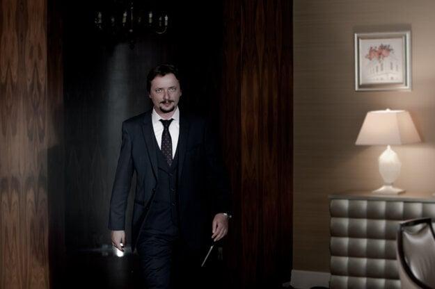 Dano Heriban vo filme Sviňa.