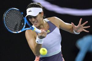 Garbine Muguruzová Blancová vo finále Australian Open 2020.