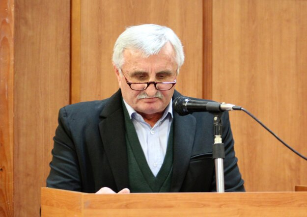 Predseda ObFZ Senica Miroslav Guček.