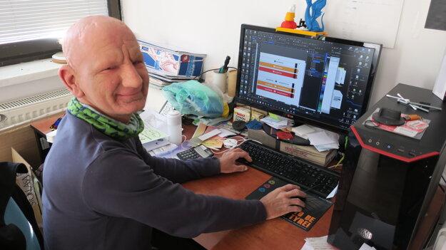 Michal Kudlej trpí ojedinelým takzvaným KID syndrómom.