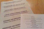 Na volebných tlačivách je slovenský, maďarský, rusínsky, ukrajinský, rómsky a nemecký jazyk.
