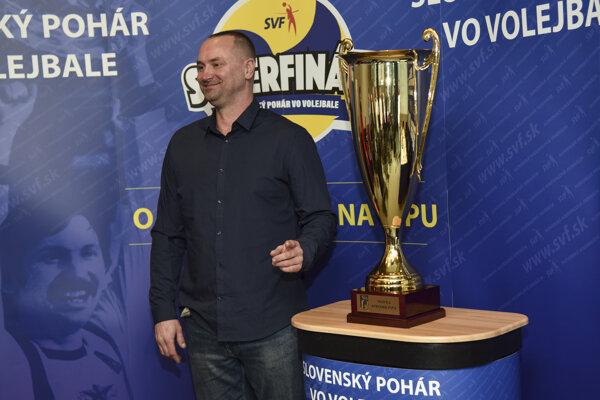 Na snímke syn Štefana Pipu a dlhoročný reprezentant SR vo volejbale Martin Pipa.