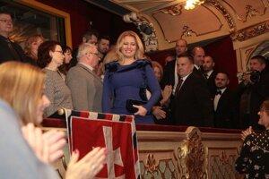 Účasť prezidentky bola pre divákov pridaným zážitkom.