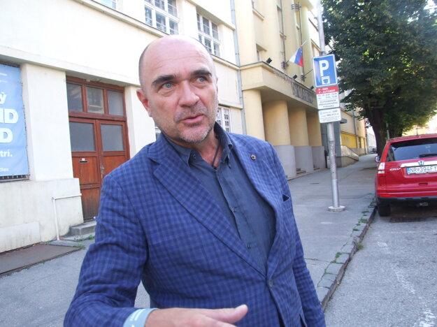Hlavný architekt Viktor Šabík.