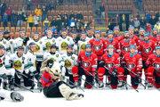 Levický hokejový klub usporiadal pri príležitosti 90. výročia tradície hokeja vmeste oslavu, na ktorú prijali pozvania hráči majstrovského tímu zBanskej Bystrice. Extraligista vzápase zvíťazil 5:1.